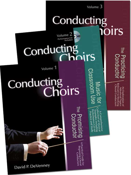Conducting Choirs, Three-volume Set