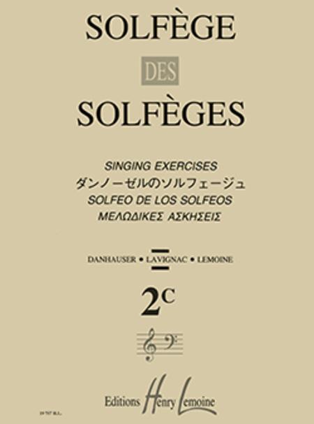 Solfege Des Solfeges - Volume 2C Sans Accompagnement
