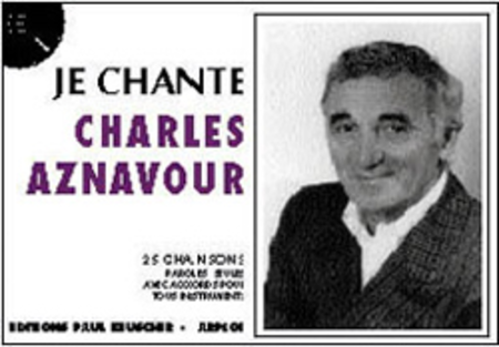 Je Chante Aznavour