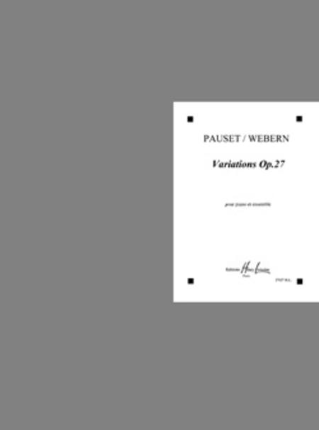 Variations Op. 27