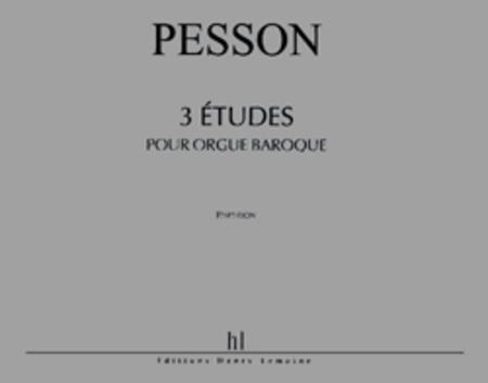 Etudes Pour Orgue Baroque (3)