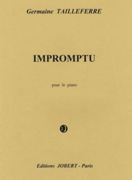 Impromptu Pour Piano
