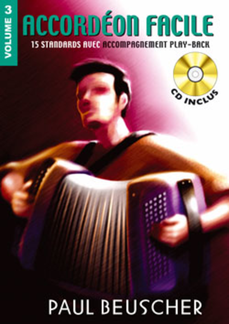 Accordeon Facile - Volume 3