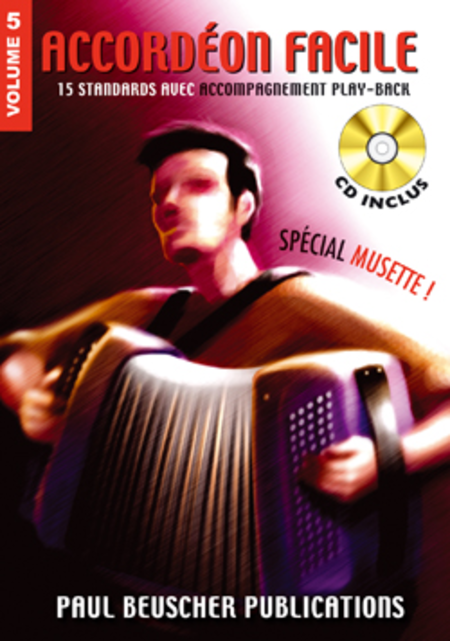 Accordeon Facile - Volume 5 (Special Musette)