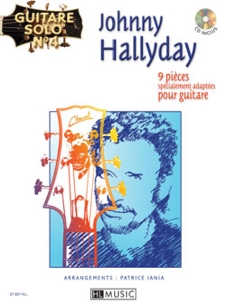 Guitare Solo No. 4: Johnny Hallyday