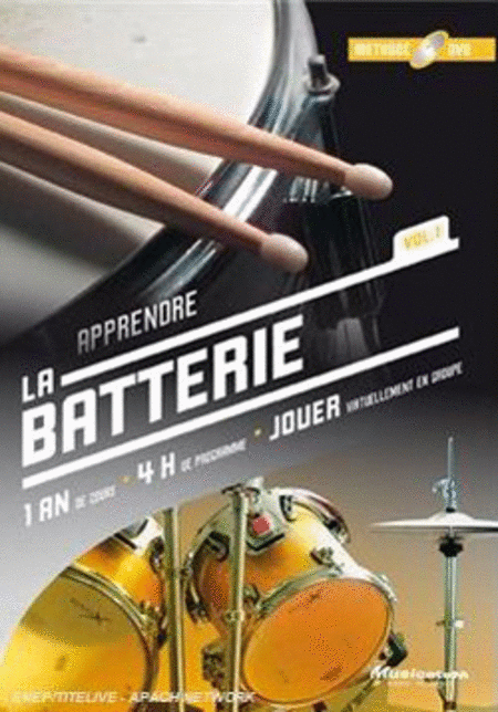 Apprendre la batterie Vol. 1