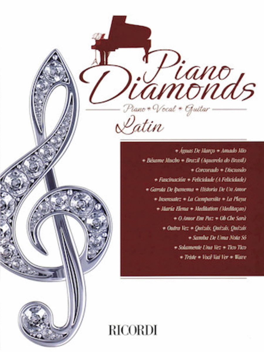 Piano Diamonds: Latin