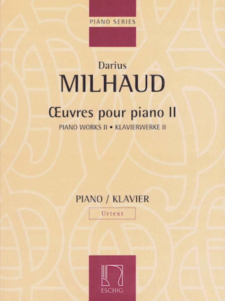 Piano Works - Volume II