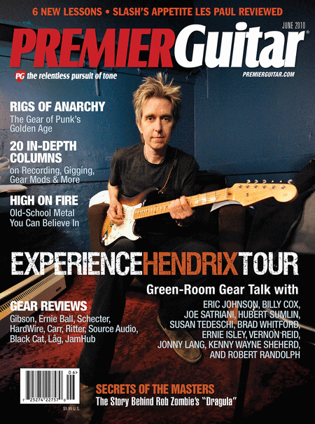 Premier Guitar Magazine Back Issue - June 2010