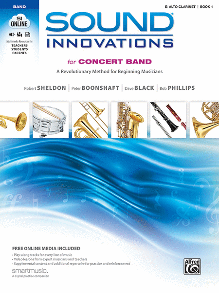 Sound Innovations for Concert Band, Book 1 (Alto Clarinet)