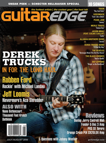 Guitar Edge Magazine July/August 2010