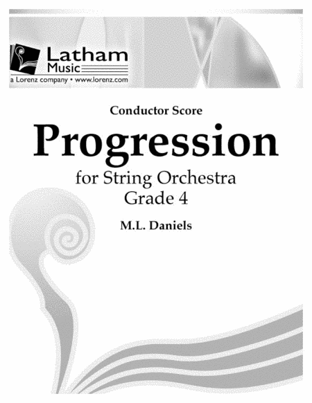 Progression for String Orchestra - Score