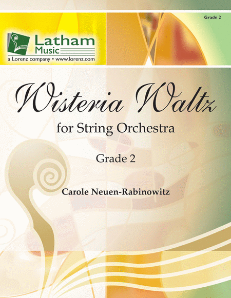 Wisteria Waltz for String Orchestra