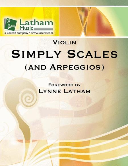 Simply Scales (and Arpeggios) - Violin Book