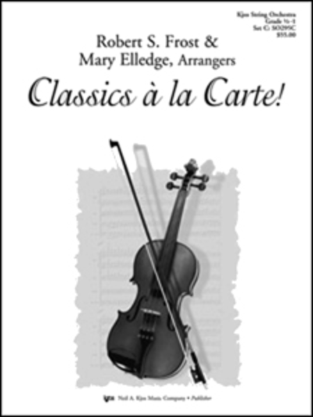 Classics a la Carte! - Score
