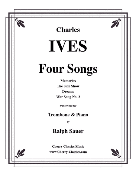 Four Songs for Trombone & Piano