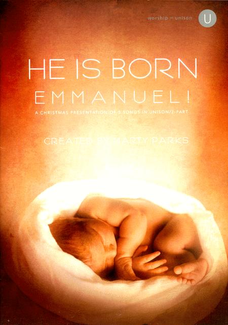 He Is Born - Emmanuel! (Book)