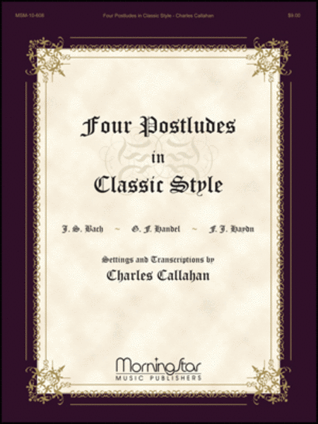Four Postludes in Classic Style