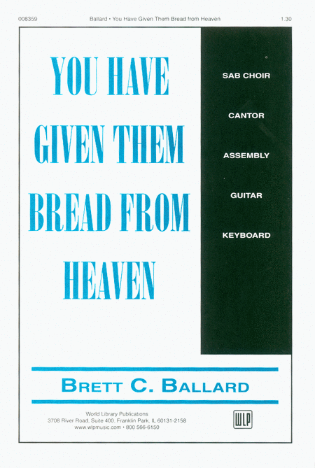 You Have Given Them Bread from Heaven