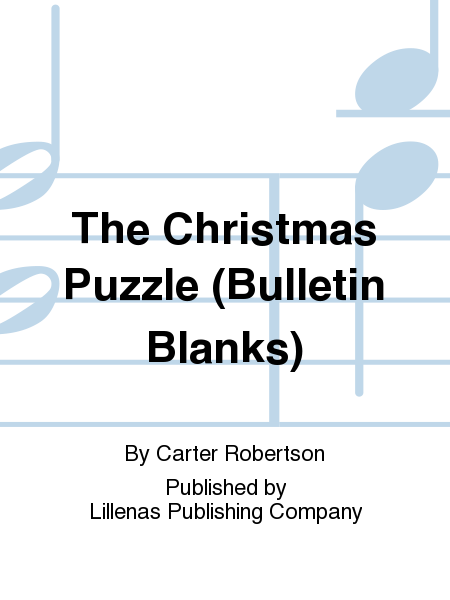 The Christmas Puzzle (Bulletin Blanks)