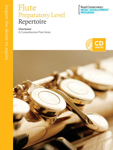 Overtones - A Comprehensive Flute Series: Preparatory Flute Repertoire