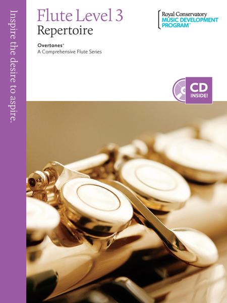 Overtones - A Comprehensive Flute Series: Flute Repertoire 3