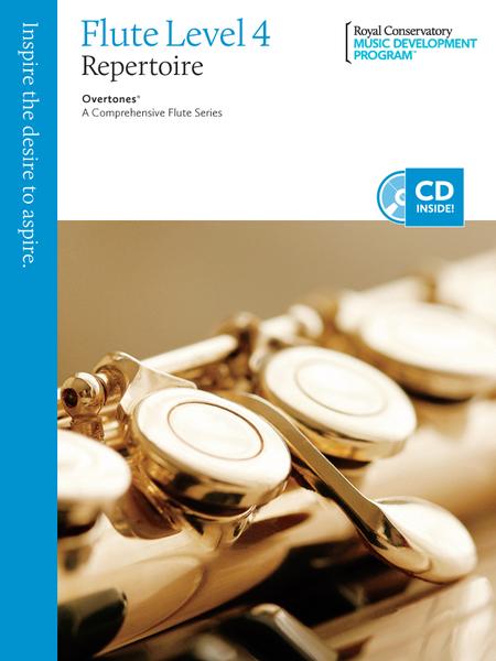 Overtones - A Comprehensive Flute Series: Flute Repertoire 4