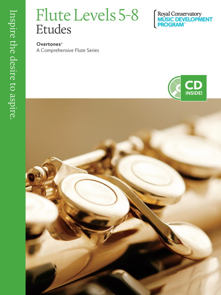 Overtones - A Comprehensive Flute Series: Flute Studies 5-8