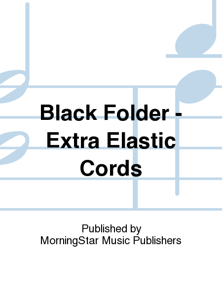 Black Folder - Extra Elastic Cords