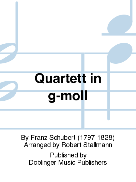 Quartett in g-moll