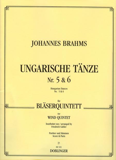 Ungarische Tanze Nr. 5 und 6