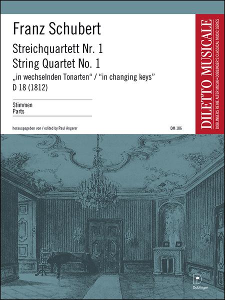 Streichquartett Nr. 1 D 18 (1812)