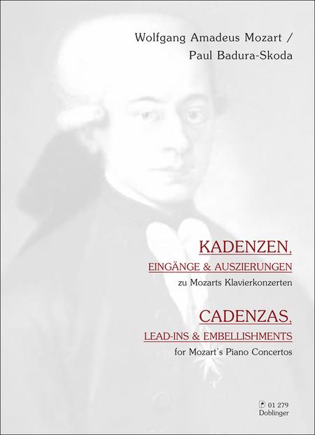 Kadenzen, Eingange & Auszierungen zu Mozarts Klavierkonzerten