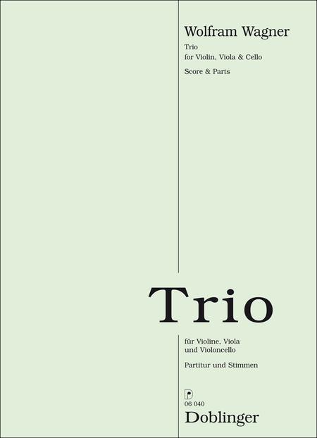 Trio fur Violine, Viola und Violoncello