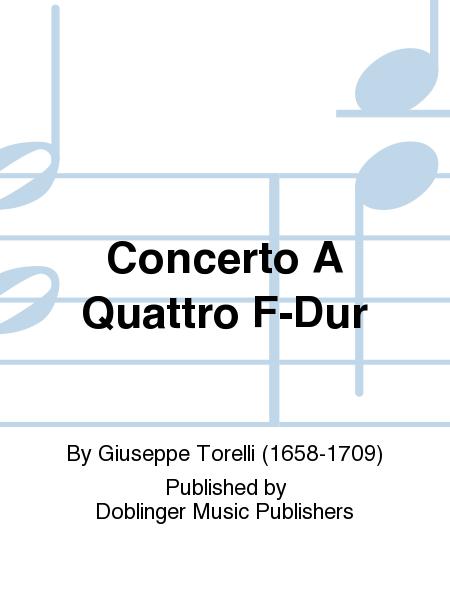 Concerto A Quattro F-Dur
