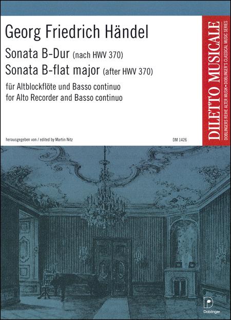 Sonata B-Dur (HWV 370)