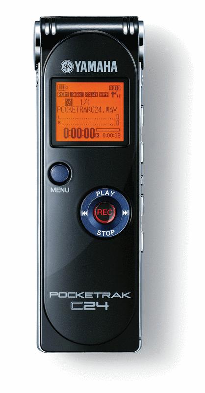 Yamaha Pocketrak C24 Digital Audio Recorder