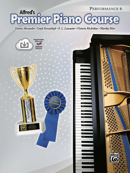 Premier Piano Course Performance, Book 6