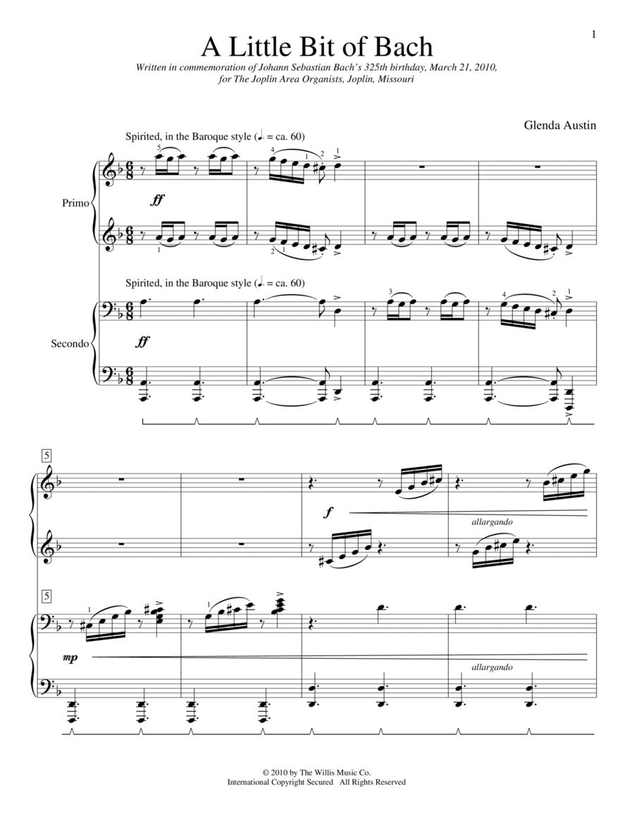 A Little Bit Of Bach