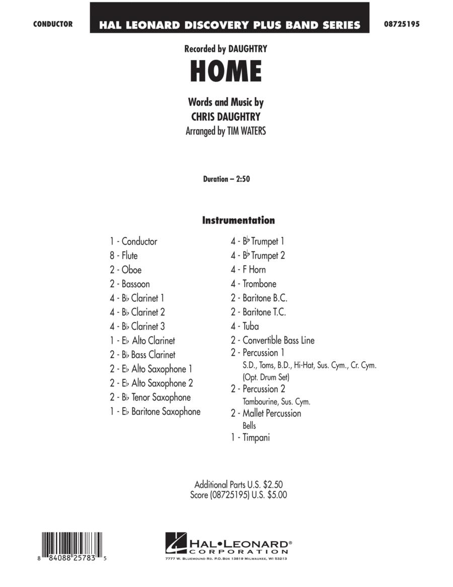 Home - Full Score