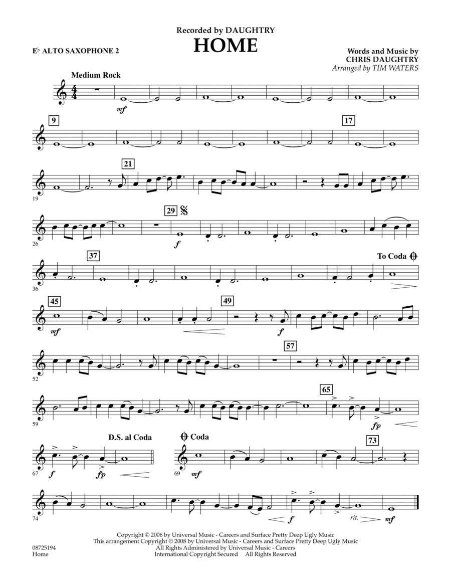 Home - Eb Alto Saxophone 2