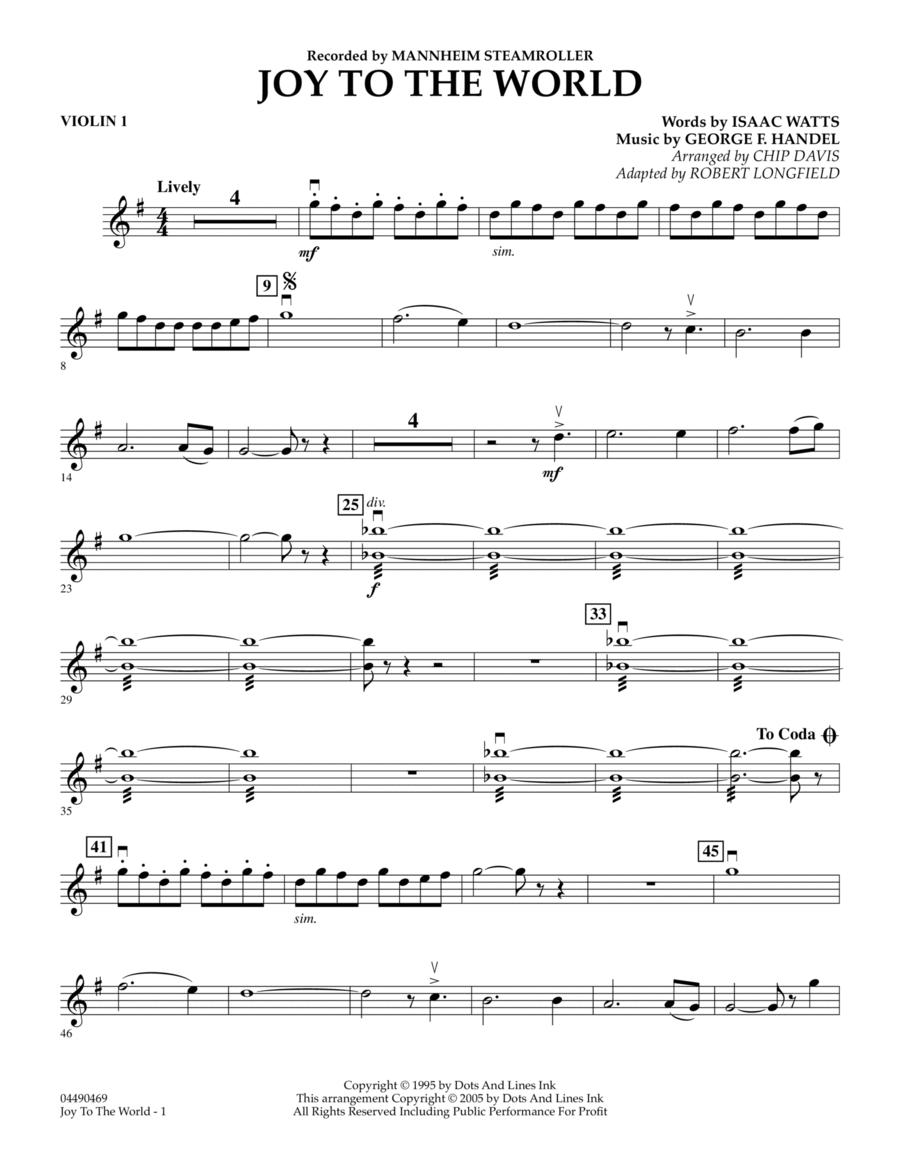 Joy To The World - Violin 1