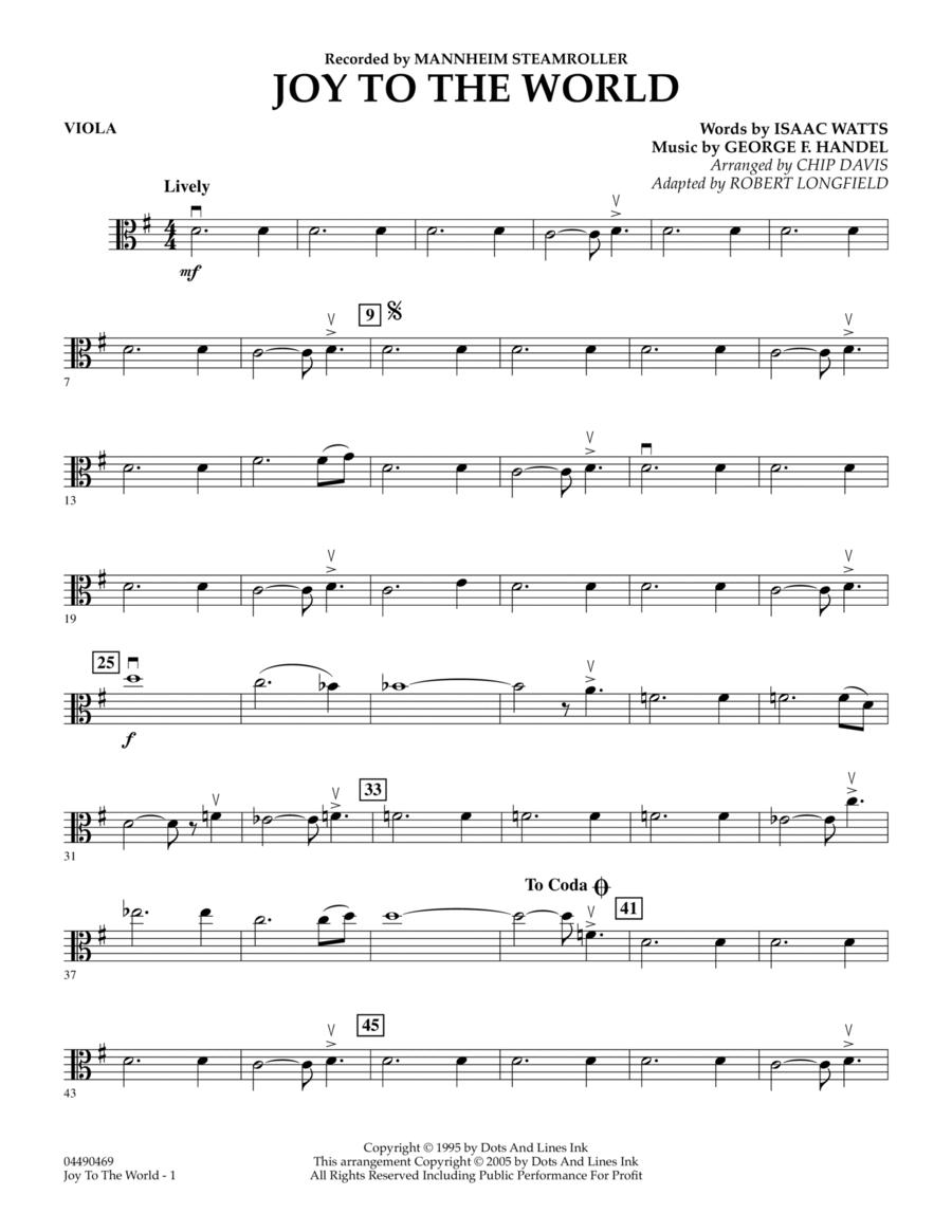 Joy To The World - Viola
