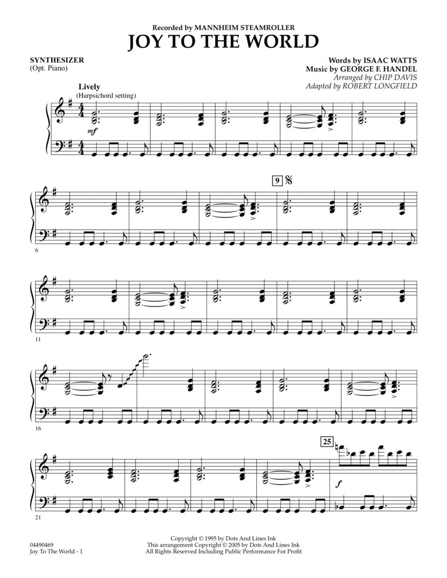 Joy To The World - Synthesizer