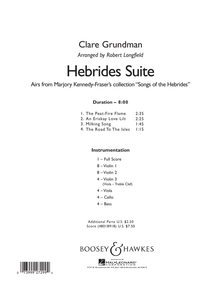Hebrides Suite - Conductor Score (Full Score)