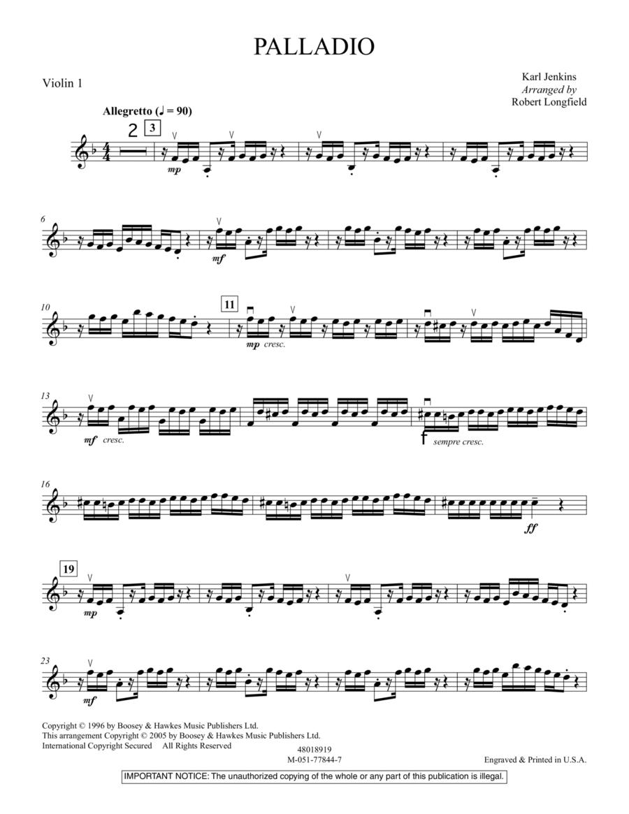 Palladio - Violin 1