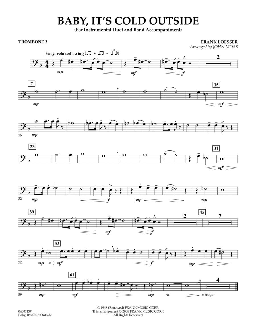 Baby, It's Cold Outside - Trombone 2