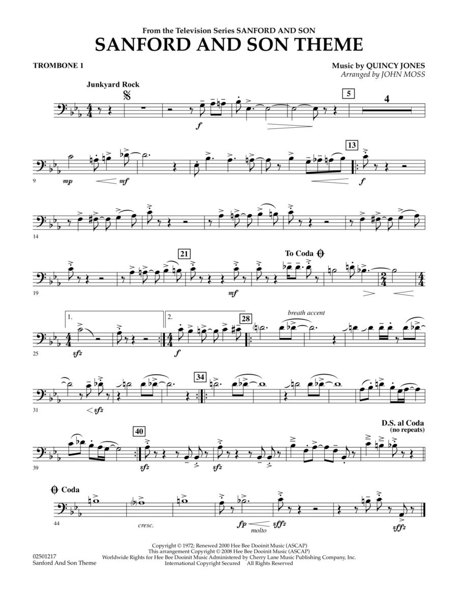 Sanford And Son Theme - Trombone 1