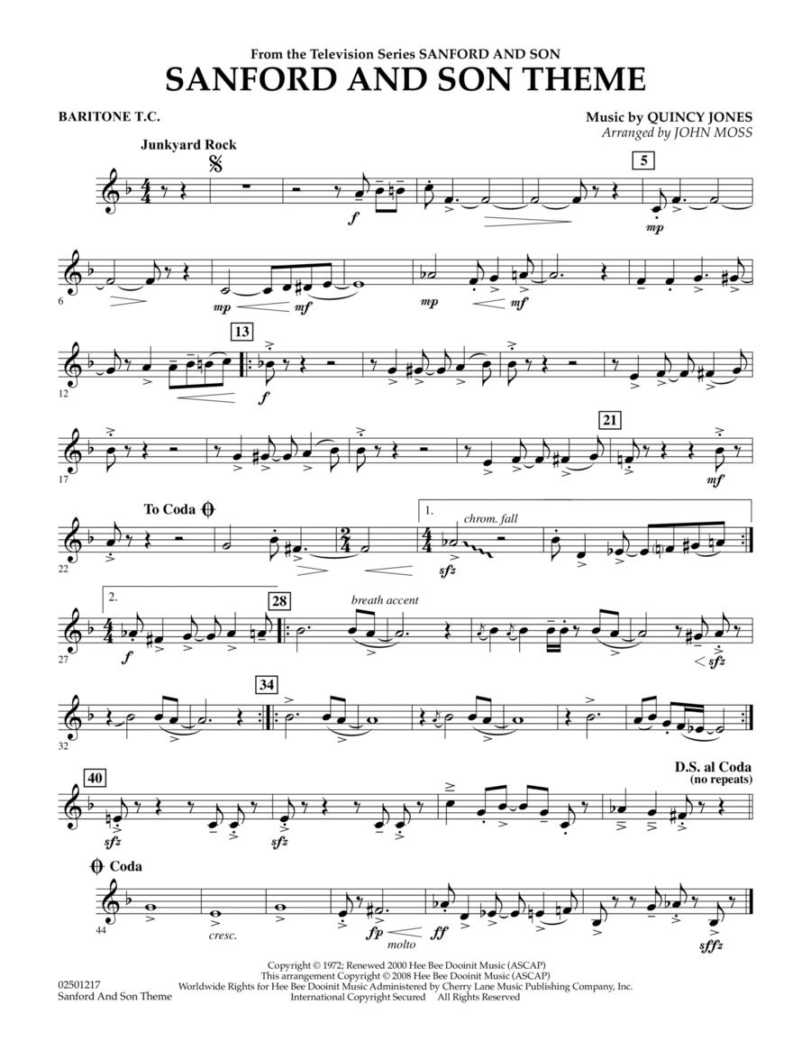 Sanford And Son Theme - Baritone T.C.