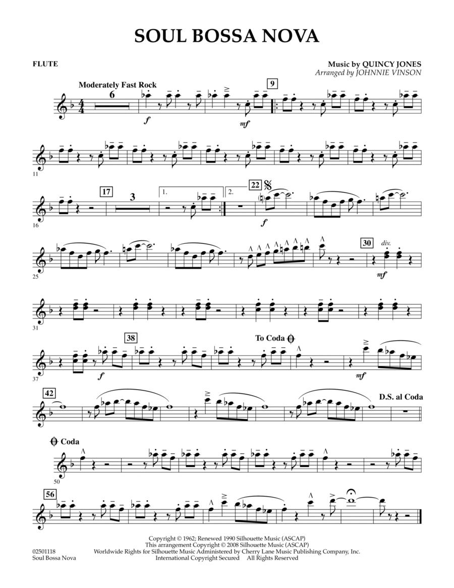 Soul Bossa Nova - Flute